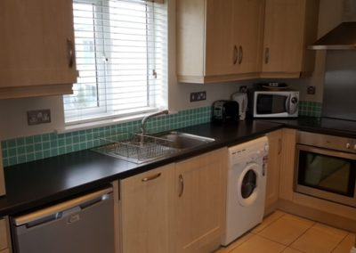 kitchen, serviced apartment
